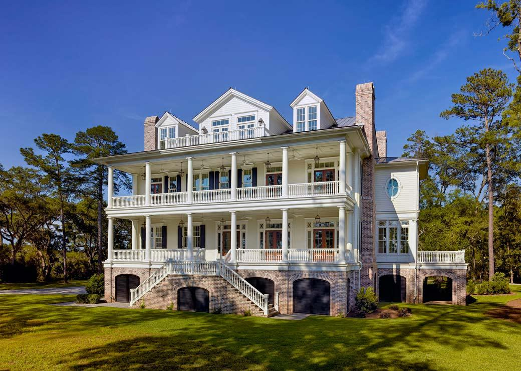 11 Polly Point Plantation Lowcountry Architecture Christopher Rose Archit