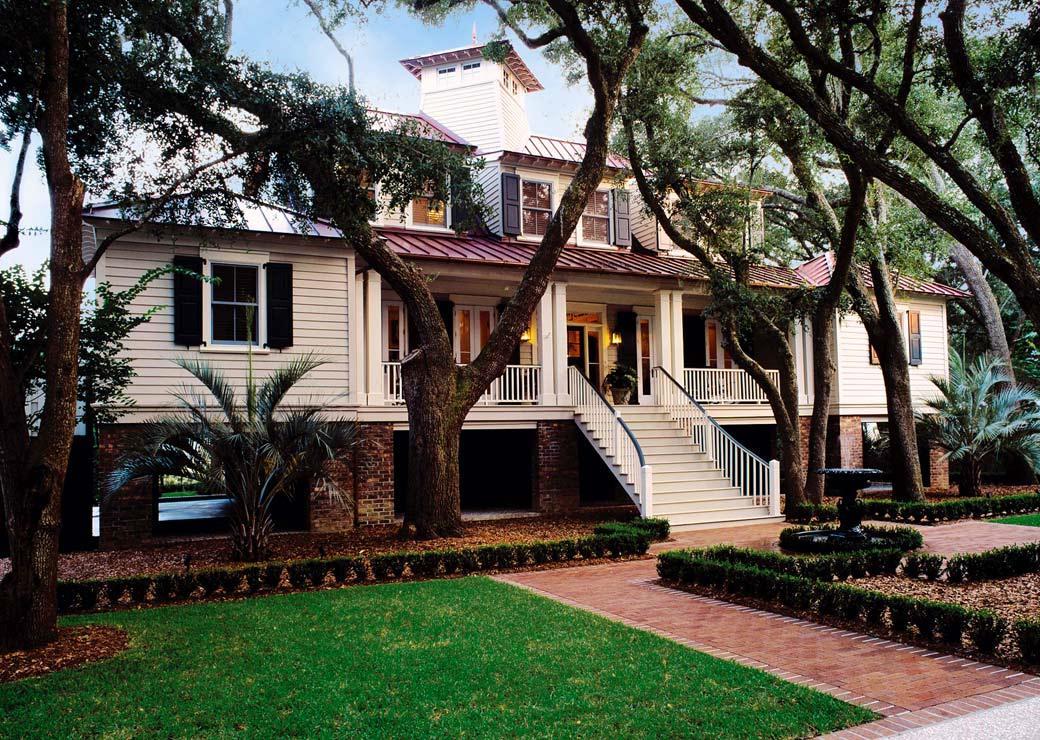95 rhetts bluff lowcountry architecture christopher for Low country architecture